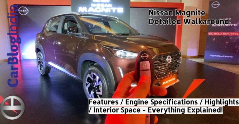 All 20+ Features Of Nissan Magnite Explained In This Walkaround Video