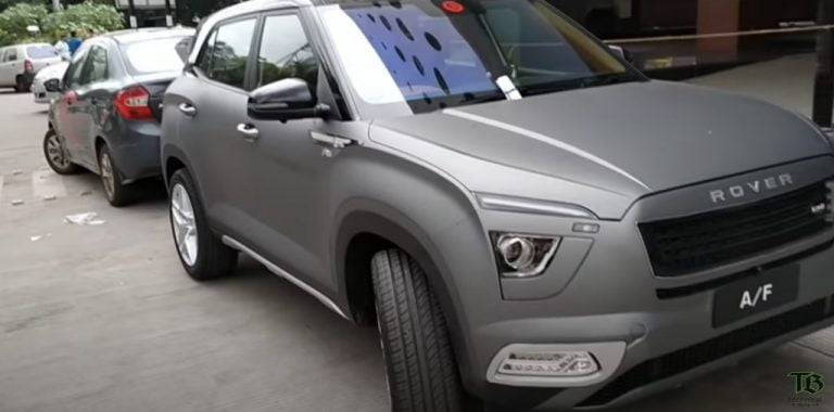 2020 Hyundai Creta Modified Into A Range Rover Inside-Out – Video