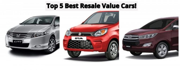 Top 5 Cars In India With Best Resale Value – Maruti, Toyota And More!