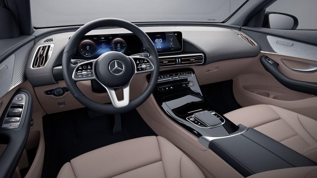 Mercedes-Benz EQC interiors.