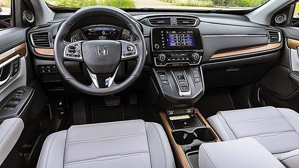 Intérieurs Honda CR-V.