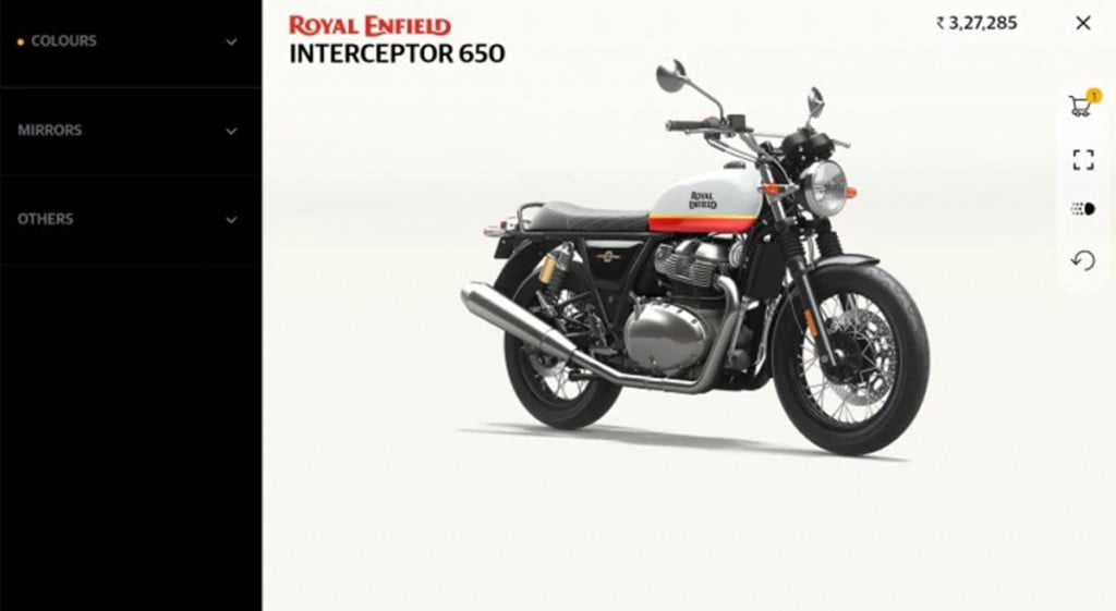 Royal Enfield has launched the 'Make-It-Yours' 3D configurator app which makes personalization of your new RE motorcycle a whole lot easier.