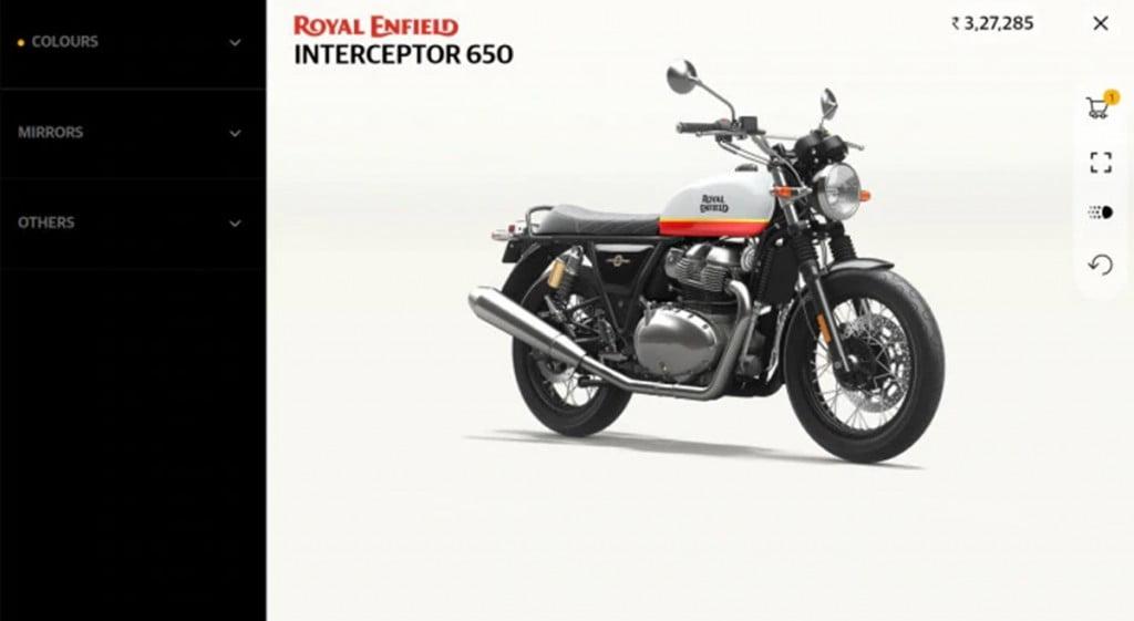 Royal Enfield a lancé l'application de configuration 3D «Make-It-Yours» qui facilite grandement la personnalisation de votre nouvelle moto RE.