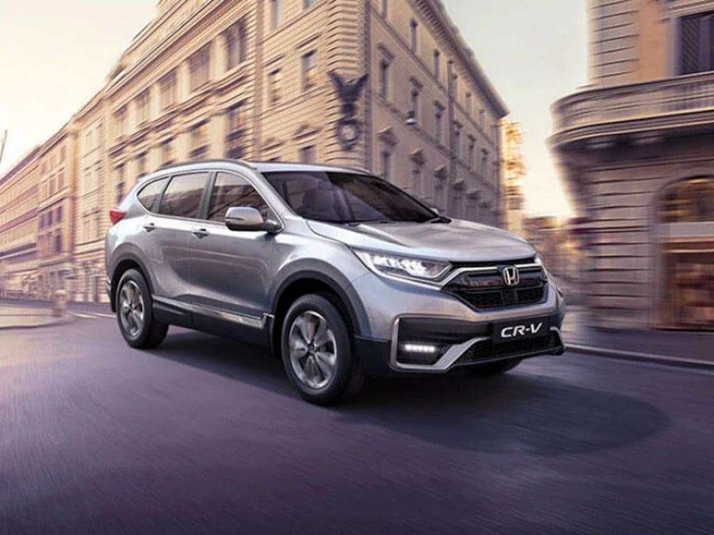 Honda a lancé le CR-V avec un lifting en tant que modèle d'édition spéciale ici en Inde pour un prix de Rs 29,50 lakh.