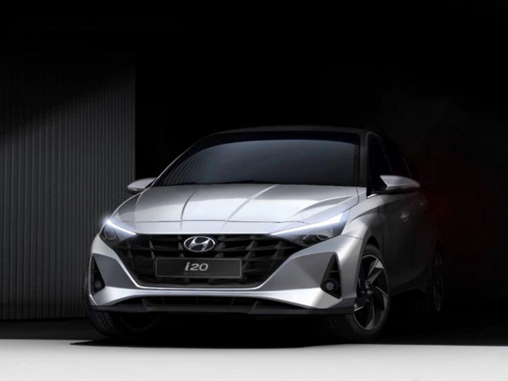Les croquis extérieurs de la nouvelle Hyundai i20 font ressortir à merveille le thème du design «Sensuous Sportiness»!