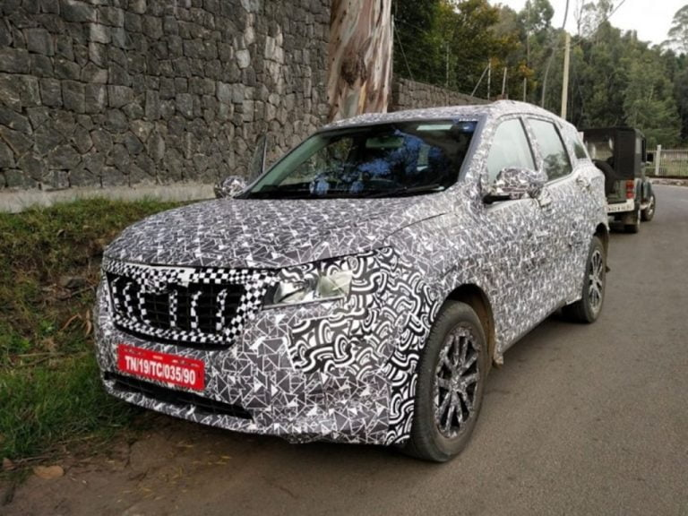 Here's Your Best Look Yet at the Next-Gen Mahindra XUV500!