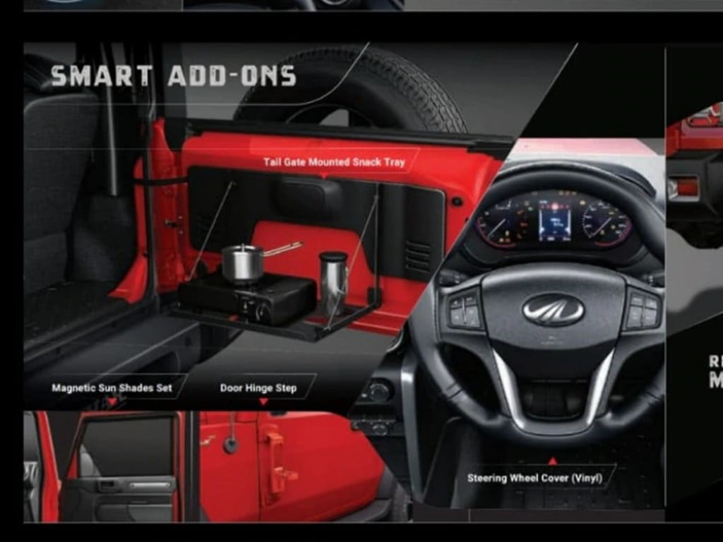 There are a bunch of interior accessories as well to improve the functionality of your SUV.