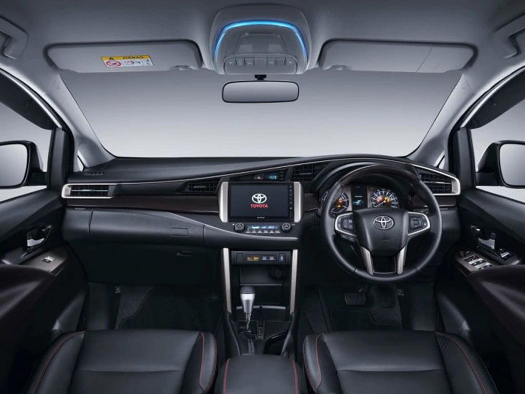 Toyota Innova Crysta facelift Interiors.