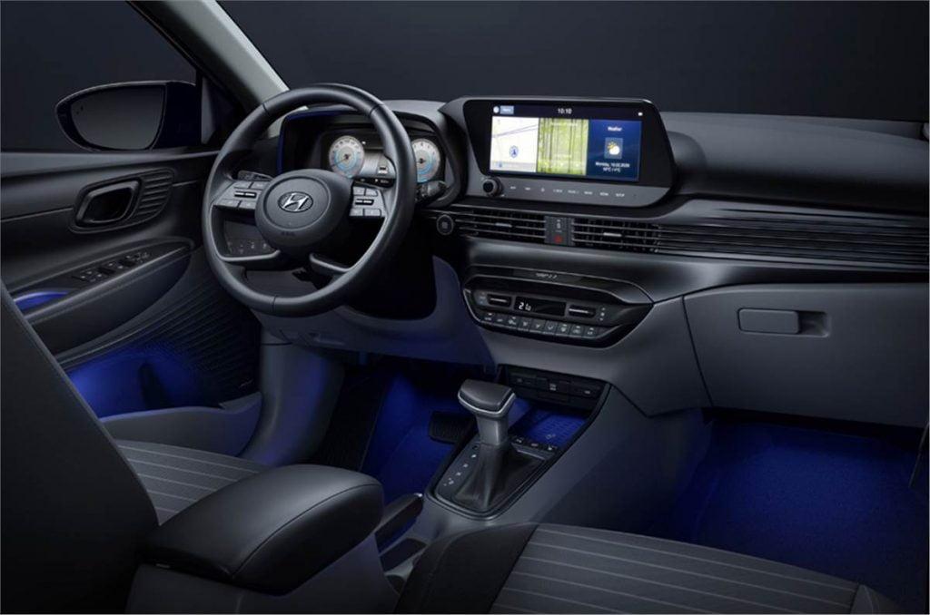 New Hyundai i20 interiors.