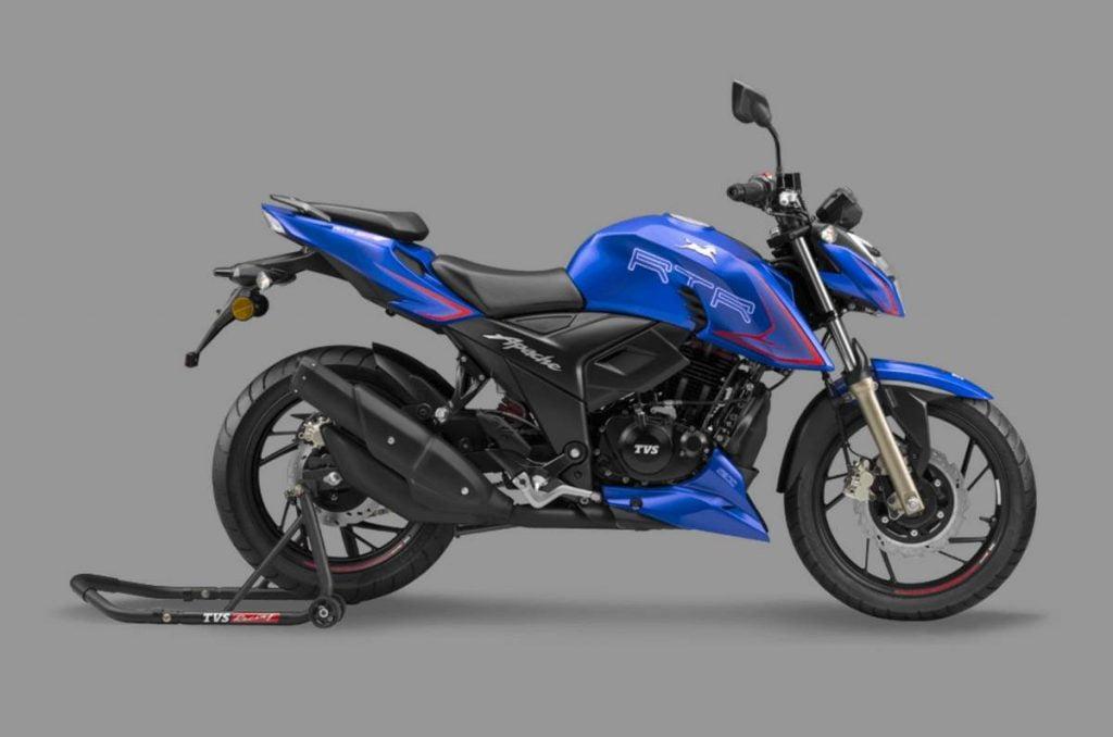 TVS a lancé une toute nouvelle Apache RTR 200 4V qui est maintenant la moto la plus abordable du marché indien avec des modes de conduite et une suspension réglable.