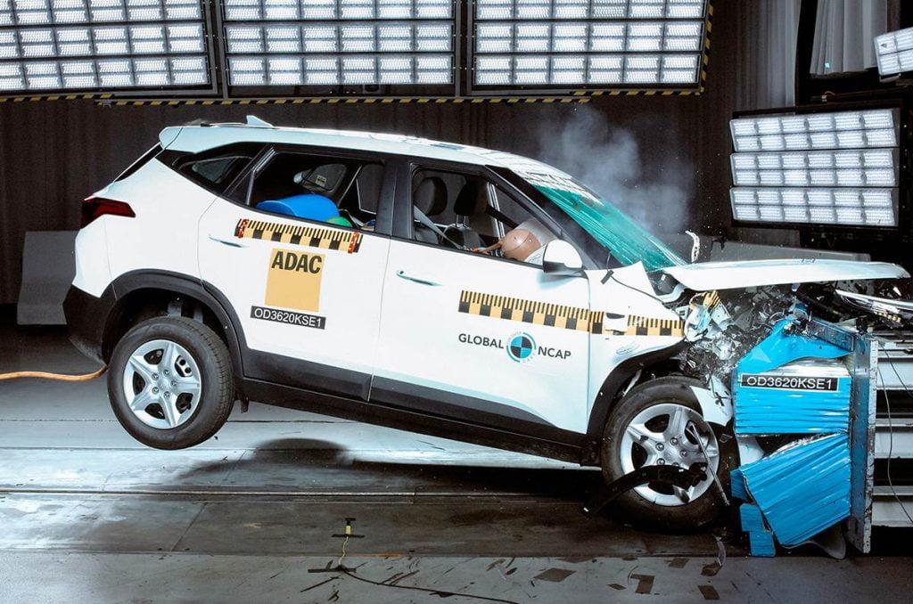 Kia Seltos obtient seulement une cote de sécurité moyenne de trois étoiles aux crash tests Global NCAP.