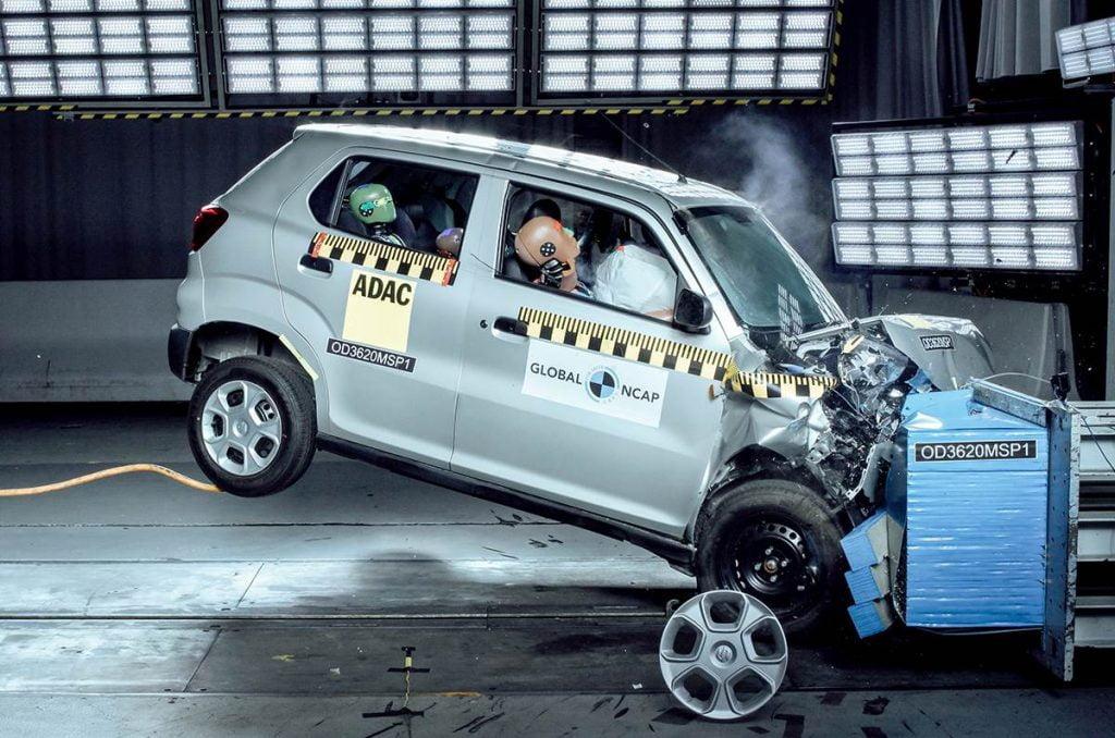 Maruti Suzuki S-Presso obtient une cote de sécurité choquante de 0 étoiles aux crash tests Global NCAP.