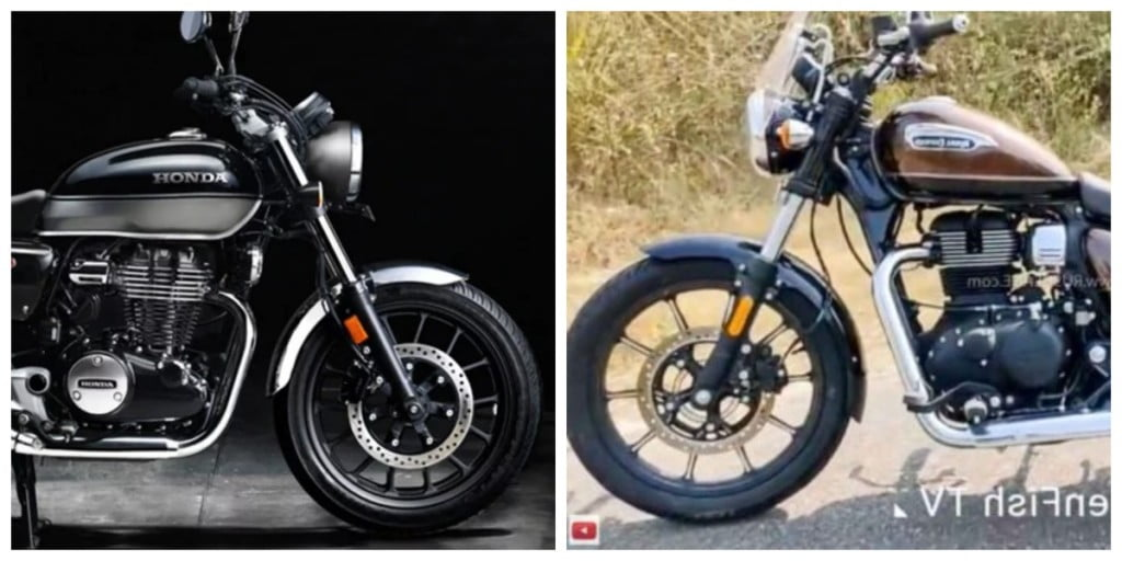 Honda H'ness CB350 vs Royal Enfield Meteor 350 - Comparison.