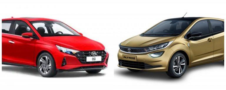 Hyundai i20 vs Tata Altroz – Premium Diesel Hatchback Performace Comparo!
