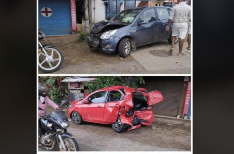 First Gen Ford Figo Has An Accident With Tata Tiago – Unexpected Results!