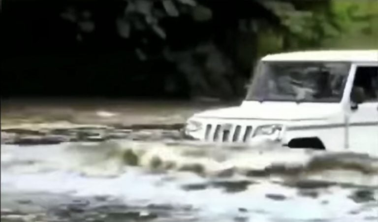 See Some Extreme Stunts Pulled Off Easily By Mahindra Bolero