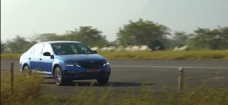 Check Out The 0-100 And 0-200 Km/Hr Timings Of Skoda Octavia RS 245