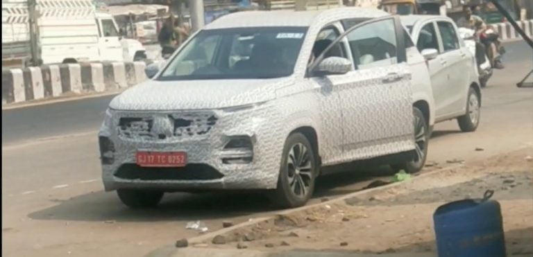MG Hector Spotted Testing With Some Upgrades – Facelift Incoming?