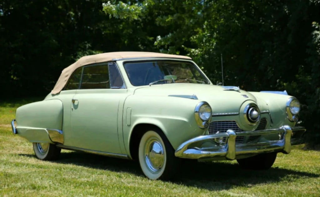 La toute première voiture de Joe Biden était la Studebaker de 1951.