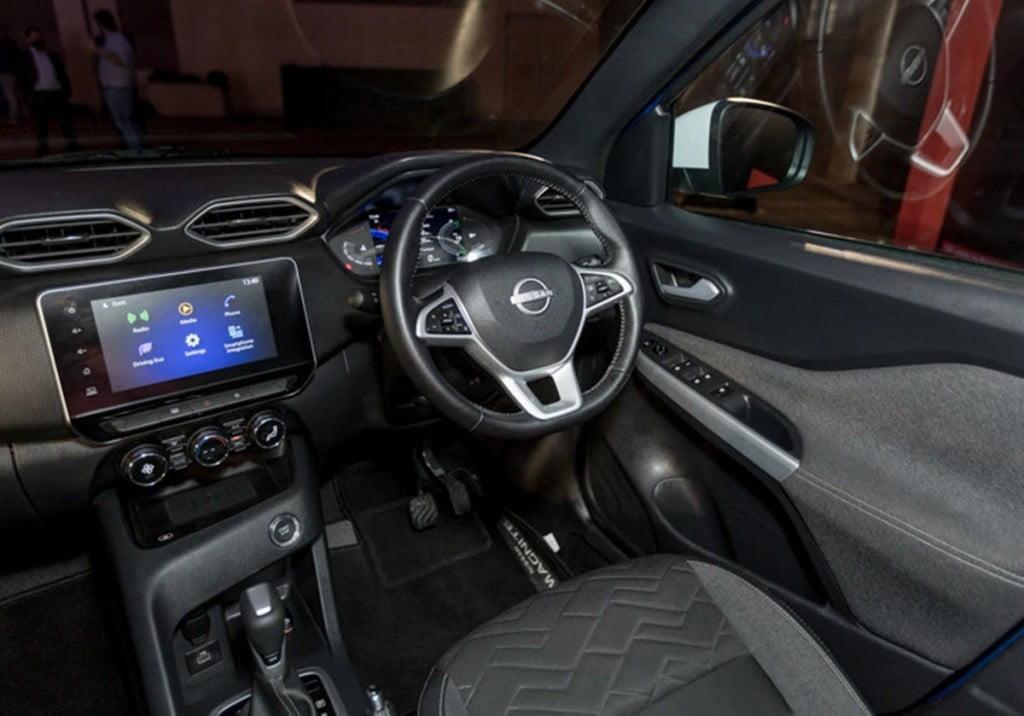 Intérieurs Nissan Magnite.