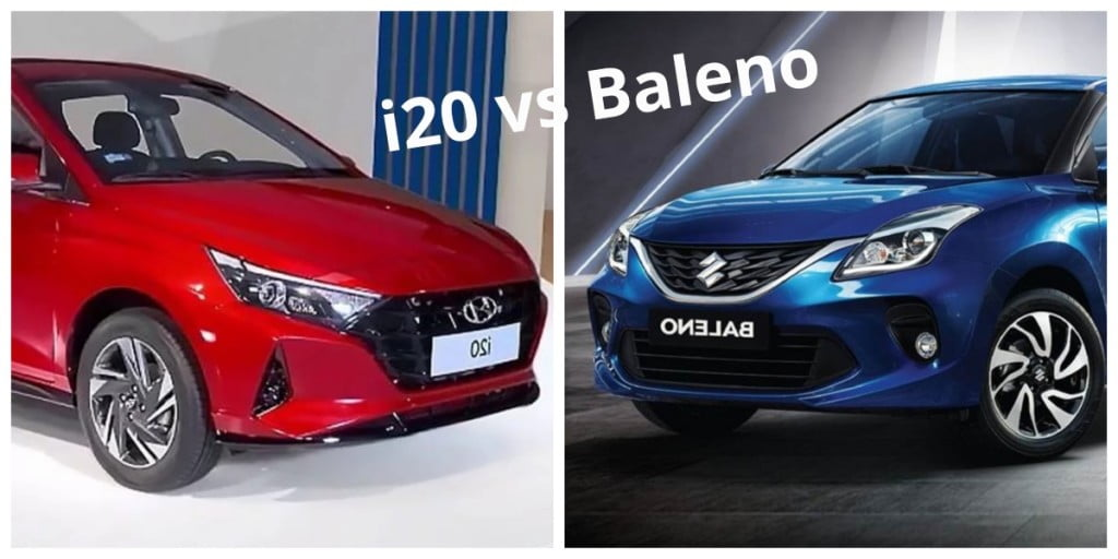 Here we are comparing the new Hyundai i20 vs Maruti Suzuki Baleno on paper with respect to dimensions, specifications and price.