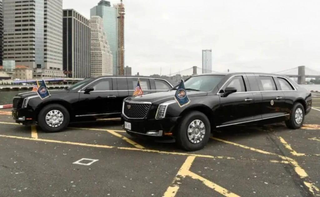 En tant que président, Biden sera conduit dans une Cadillac blindée, nommée `` The Beast ''.