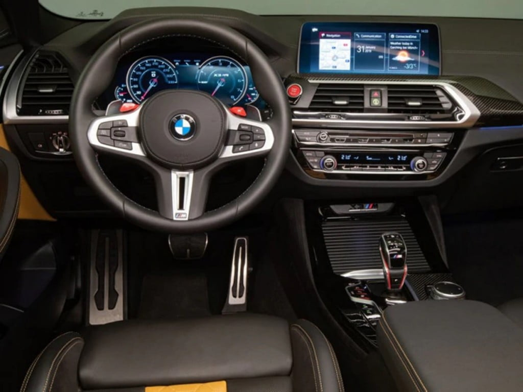 Intérieur de la BMW X3 M