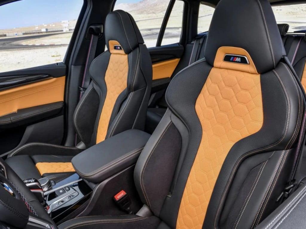 Le X3 M reçoit également des sièges sport à réglage électrique avec fonction de mémoire.
