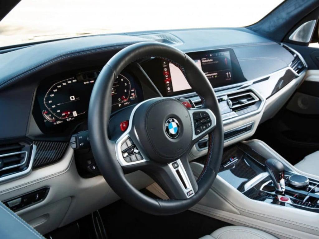 Intérieurs BMW X5 M.