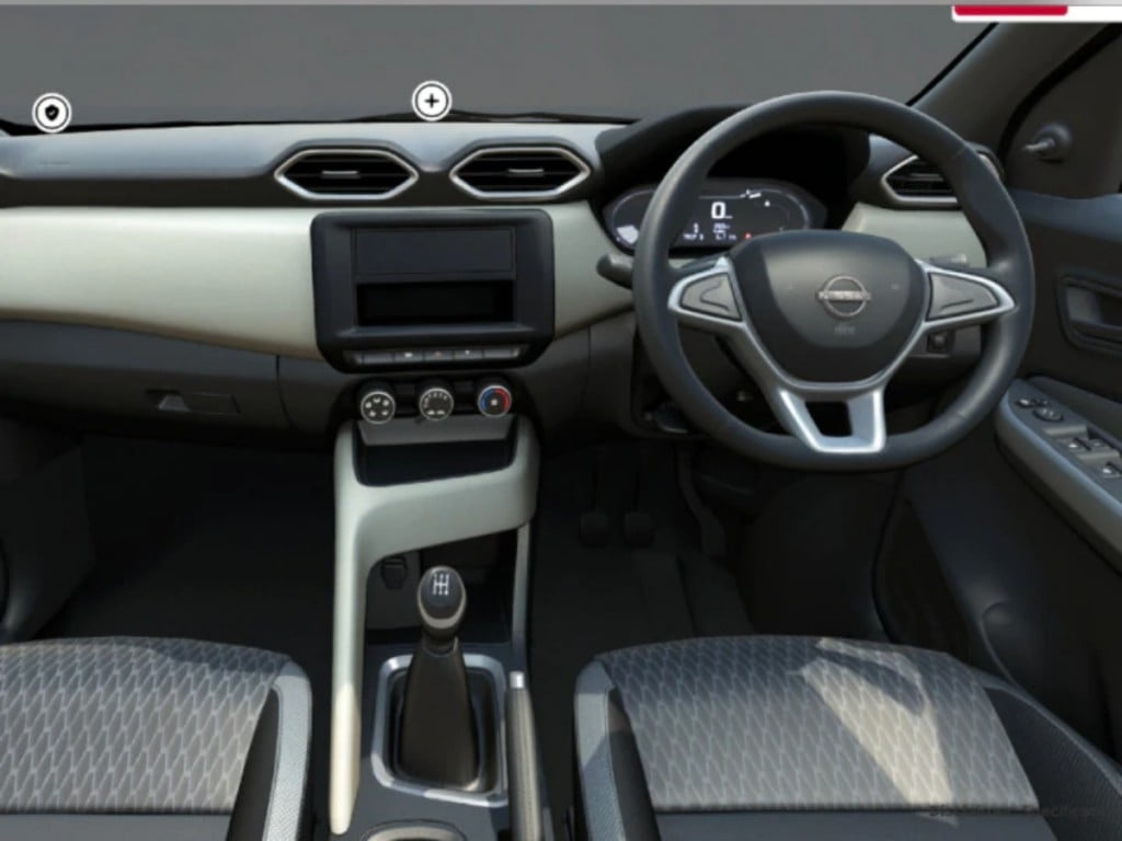 The Nissan Magnite XE also does not come with most essential features on the inside either.