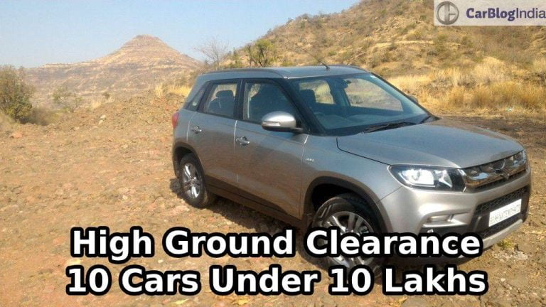 10 Cars Under Rs 10 lakhs With High Ground Clearance – Vitara Brezza, Magnite, Duster and more!