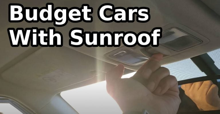 Cars With Sunroof Around Rs. 10 lakhs – Sonet, XUV300, i20 And More!