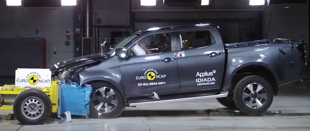 Isuzu D-Max Euro NCAP Crash Test