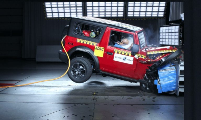 Thar may discontinue its base model with side-facing rear seats after the Global NCAP results!
