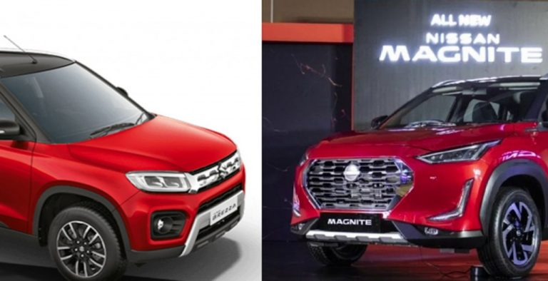 Nissan Magnite vs Maruti Suzuki Vitara Brezza – The Real Test!