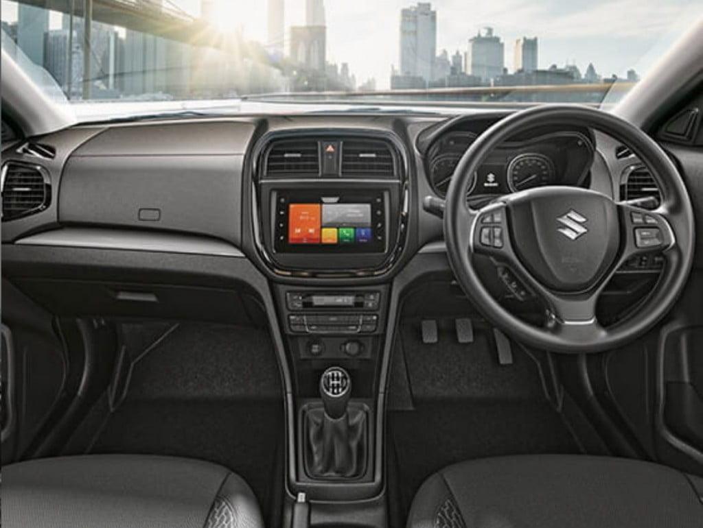 Maruti Suzuki Vitara Brezza Interiors