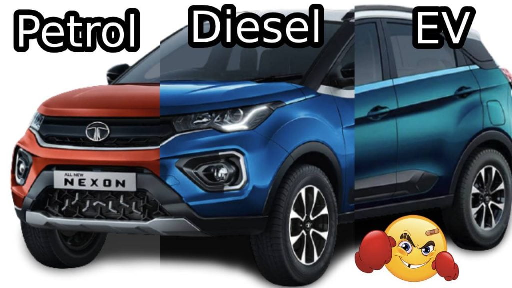 Petrol vs Diesel vs Electric Car- Total Cost Of Ownership Comparison