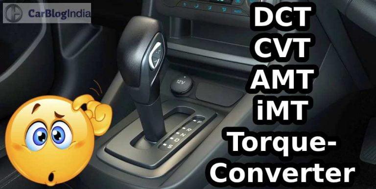 Battle Of The Transmissions- Torque Converter vs DCT vs CVT vs AMT vs iMT