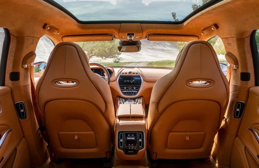 Aston Martin DBX 2021 Interior