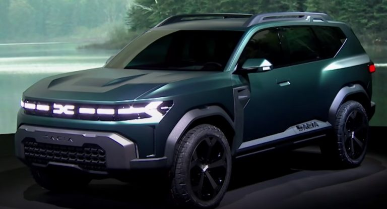 Could-Be 7-Seater Duster Unveiled – Dacia Bigster Concept!