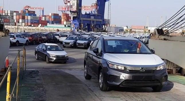 Honda Cars Export From India