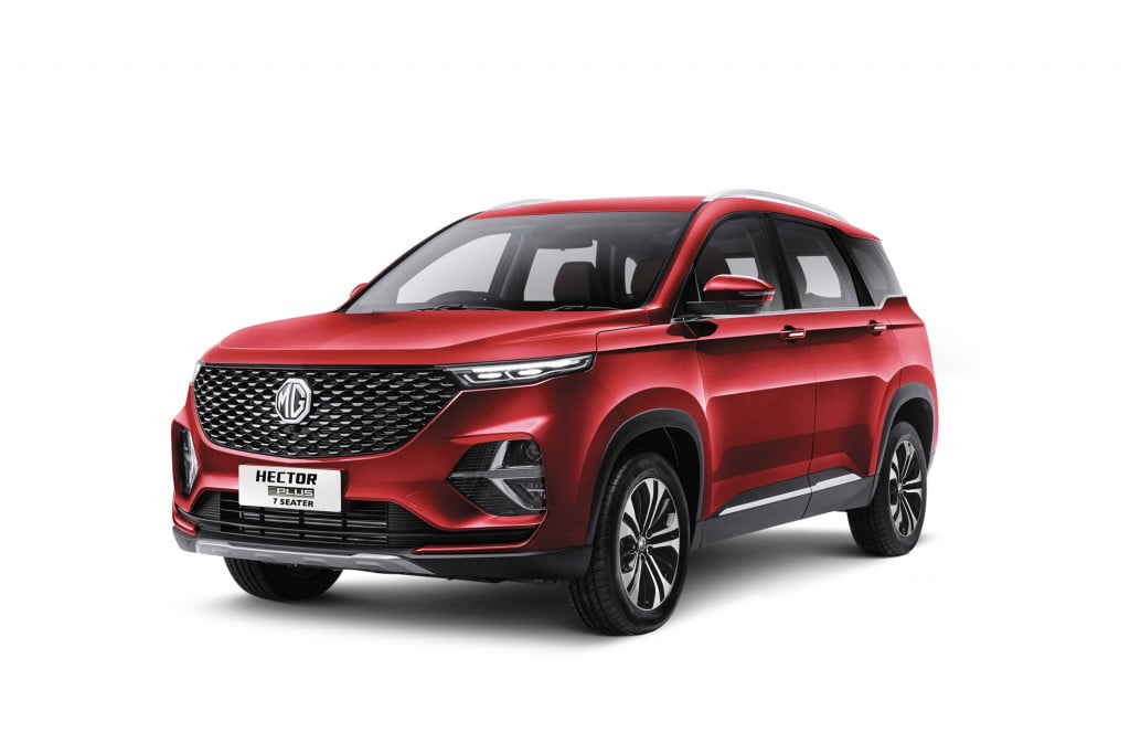 MG Hector plus 7-seater 2021