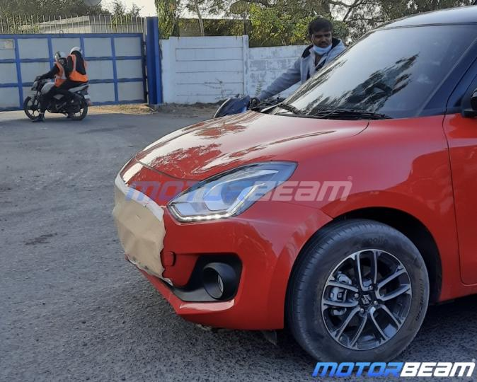 Maruti Suzuki Swift Spy