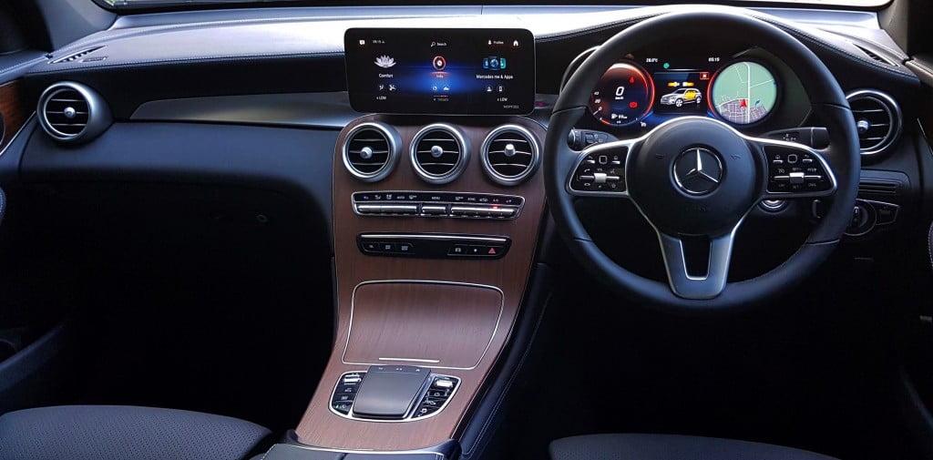 Mercedes Benz 2021 GLC Interiors