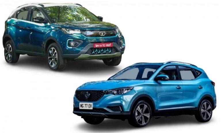 Tata Nexon EV vs MG ZS EV – Subscription Model Comparison!