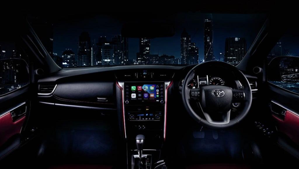 Toyota Fortuner 2021 Legender Interior