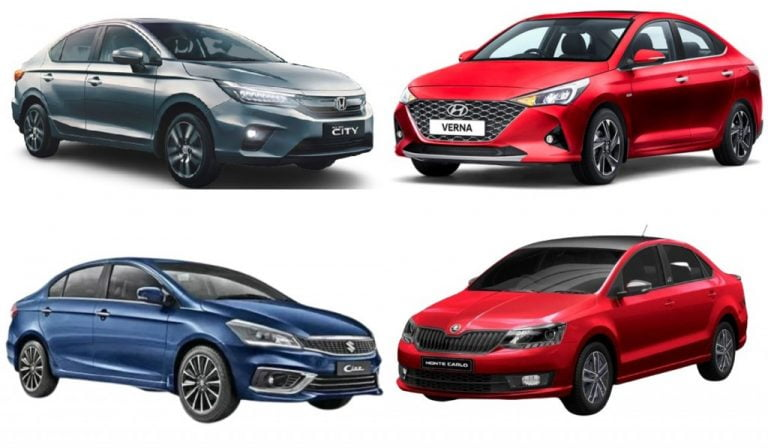 Mid-Size Sedans With Least Maintenance Costs – Verna vs Ciaz vs City vs Rapid!