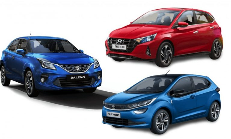Premium Hatchbacks With Least Maintenance Costs – i20 vs Altroz vs Baleno!