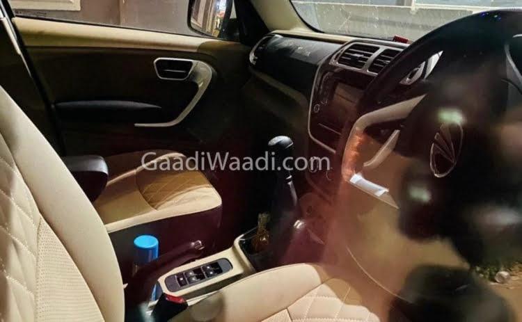 Mahindra TUV300 Plus Spy Shot - Interior