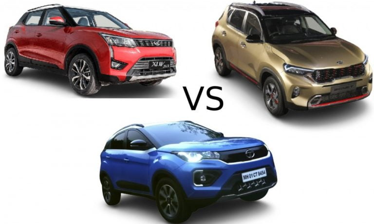 Compact SUVs In India Around Rs 10 Lakh With Diesel Automatic Transmission!
